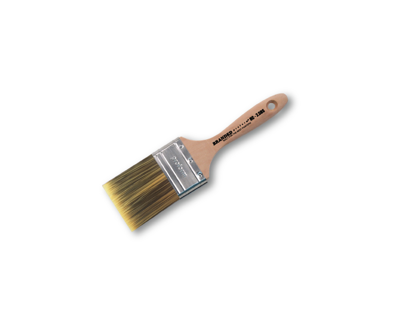 3.0″ Straight, PBT, Beaver Tail Handle w/ Custom Branded Keeper Label